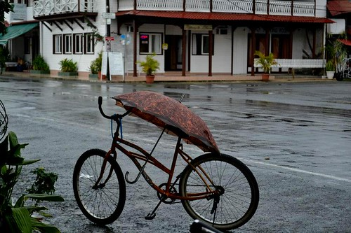 Bike and Umbrella, Costa Rica