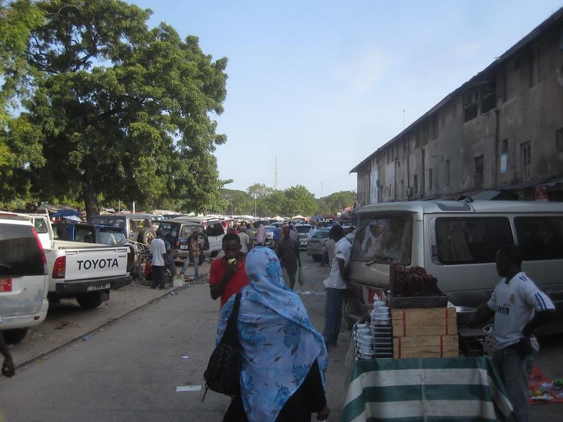 Stonetown Zanzibar Market Africa