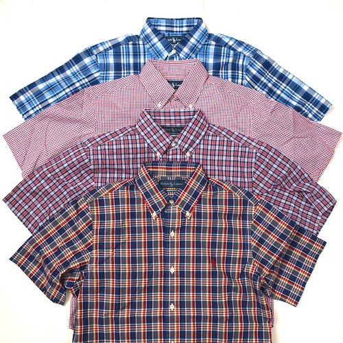 Ralph Lauren / S/S Plaid Shirts
