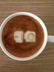 Today's latte, Google I/O 2012.