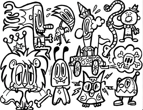 Doodle of Sharpie