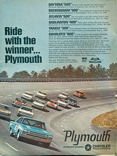 1966 Plymouth Satellite Richard Petty Race Car