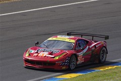 AF Corse Waltrip's Ferrari 458 Italia Driven by Rui Aguas, Robert Kauffman and Brian Vickers