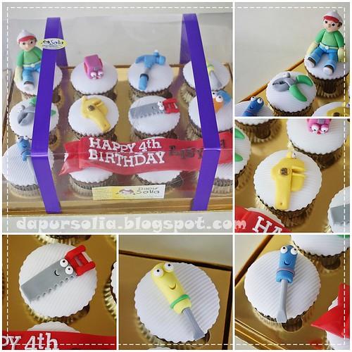 Handy Manny Cupcakes-Aisyah