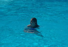 Izzy swimming 2012