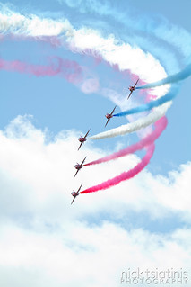 Red Arrows 4 - Waddington 2012