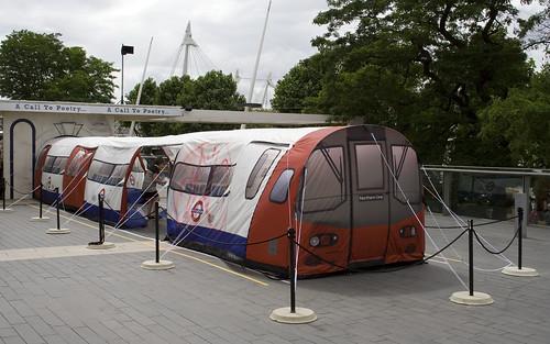It's a tube train tent