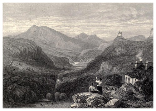 016- Valle de LLugwy-Wanderings and excursions in North Wales (1853)- Thomas Roscoe