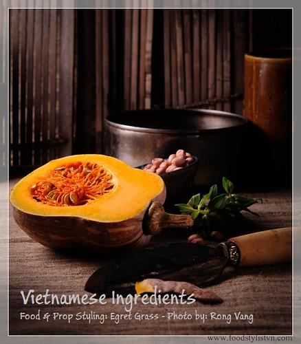 Bí đỏ - vietnamese ingredients
