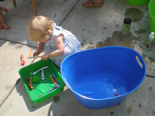 Water play at Artlab