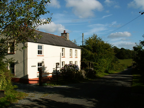 Bryn Marlais Holiday Cottage in Brechfa, Carmarthenshire, Wales, UK