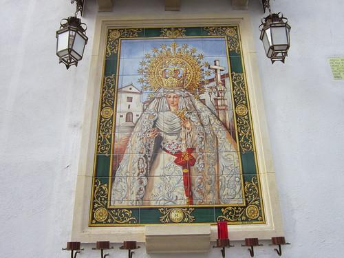 コルドバ 教会の壁の絵タイル① by Poran111