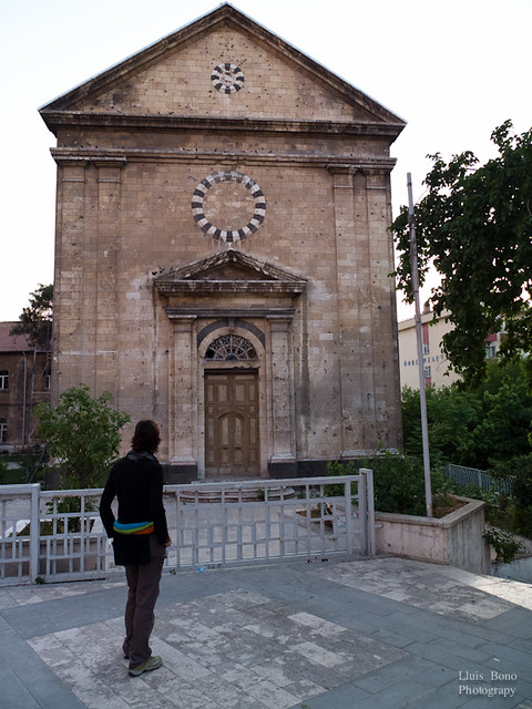 Iglesia en restauració a Gaziantep