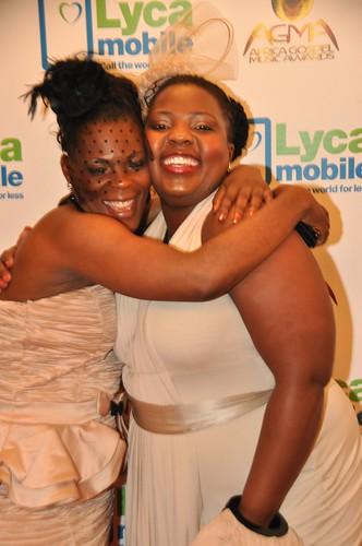 DSC_6773 Africa Gospel Music Association Awards - Patients & Zinhle