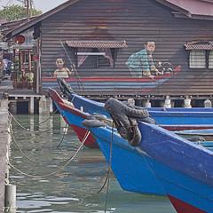 Clan Jetties Of Penang