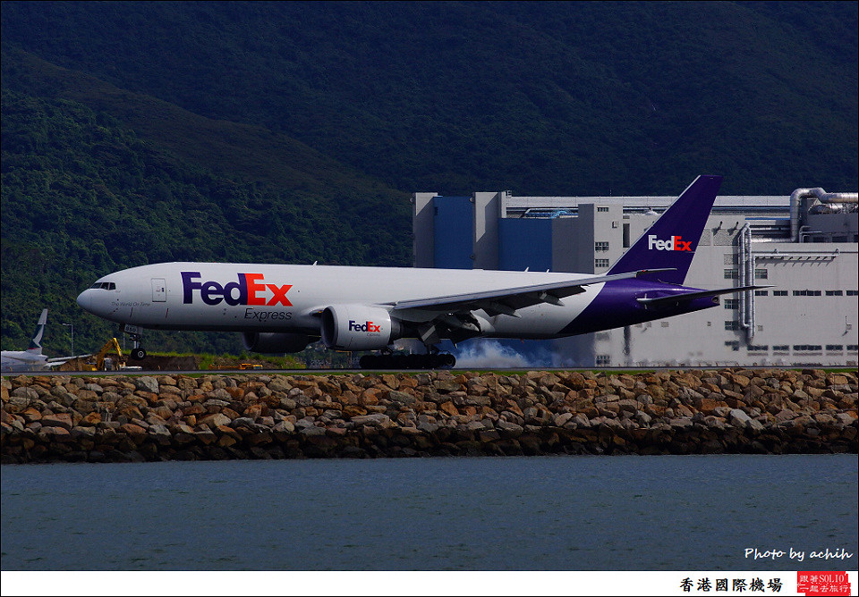 FedEx Express / N850FD / Hong Kong International Airport