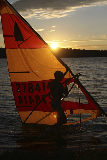 sail away;