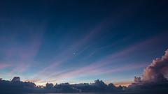 Sunrise and a few stars