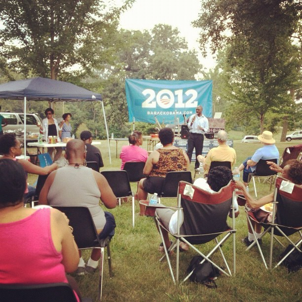 """We changed the guard with @barackobama in 2008, and now we've gotta guard the change.""—@MrMikeBlake in DSM #afam2012"