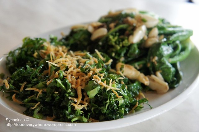 3.stir and deep fried kailan RM 18 @blue dragon (7)