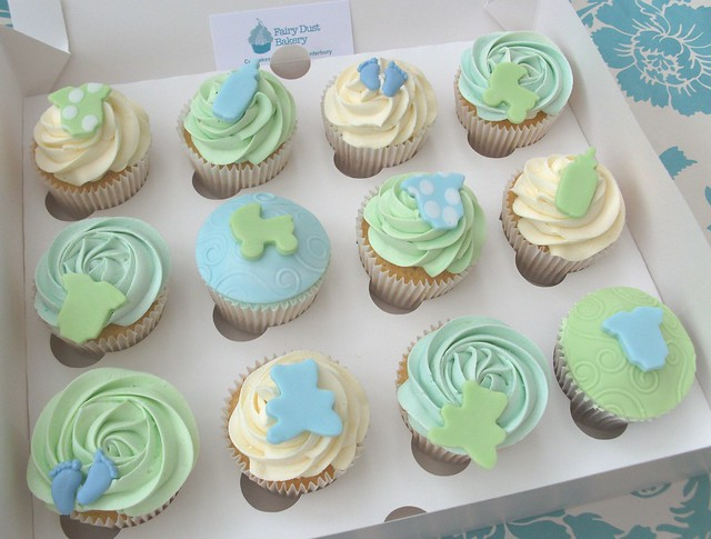 boy 39 s baby shower cupcakes flickr photo sharing