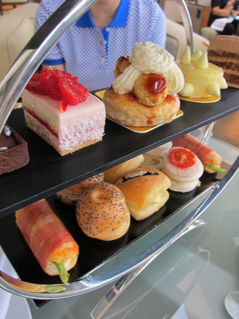 Afternoon Tea at Lobby Lounge, Intercontinental Hotel