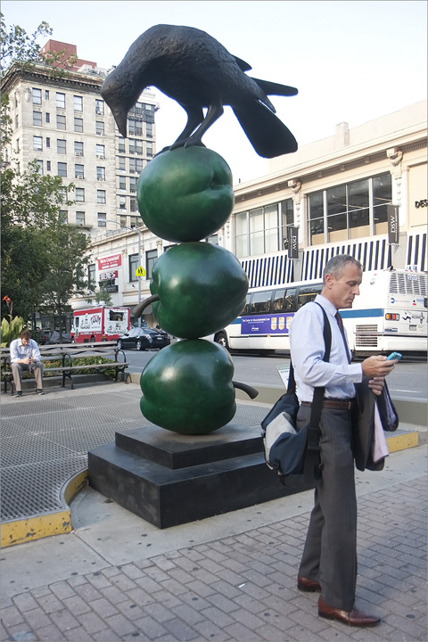 Bird Sculpture, uws