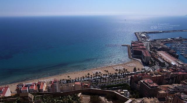 Hola Alicante~ 阿利坎特。地中海的熱度 Castillo de Santa Barbara 聖巴巴拉城   R1043583