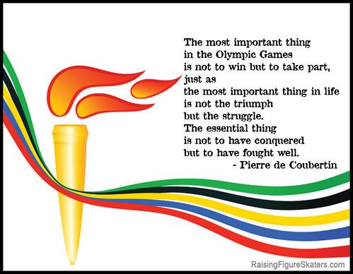Olympic Creed Word Art Freebie