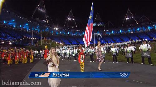 Malaysia di Olimpik London 2012