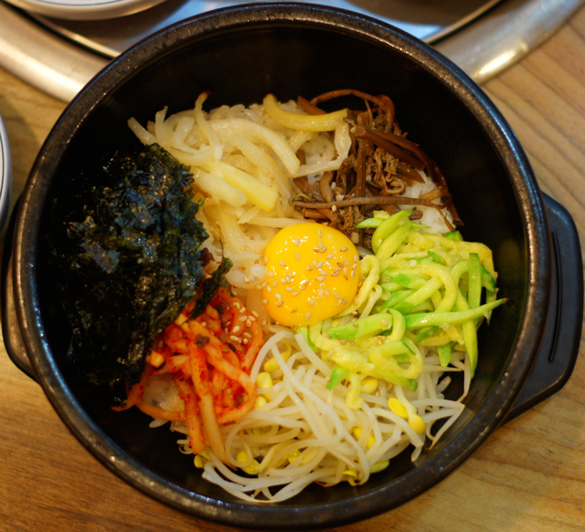 Dolsot Bibimbap - It's by far my favourite my meal in South Korea.