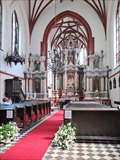 Imageof St. Anne's Church. sainteanne église vilnius lituanie dalbera
