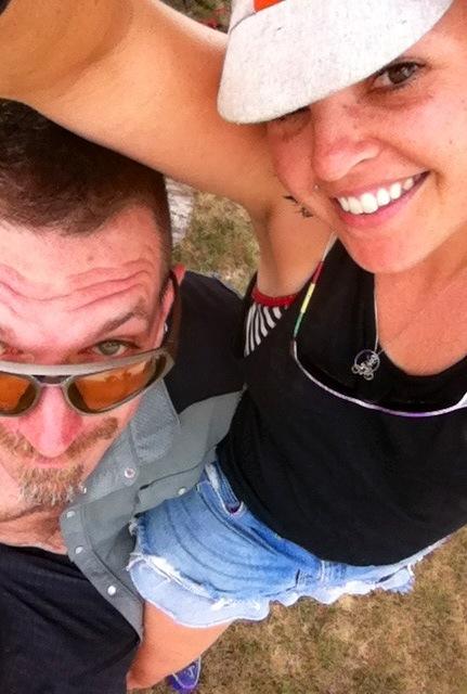 SFW & me on the RAGBRAI