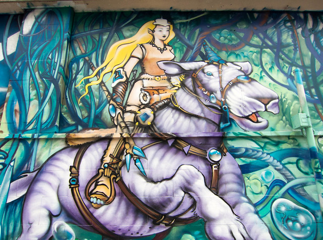 Moebius tribute mural by vision flickr photo sharing for Mural vision tv