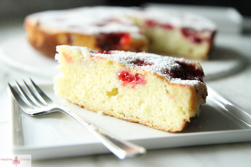 Raspberry Buttermilk Cake