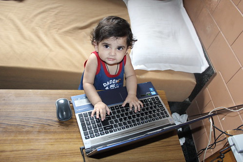 We Blog, Therefore We Are- Indiblogger Nerjis Asif Shakir  1 Year Old by firoze shakir photographerno1