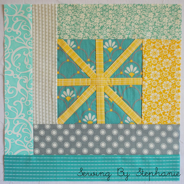 August do. Good Stitches Asterisk Block