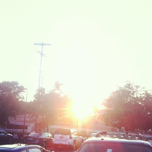 birthday sun flare