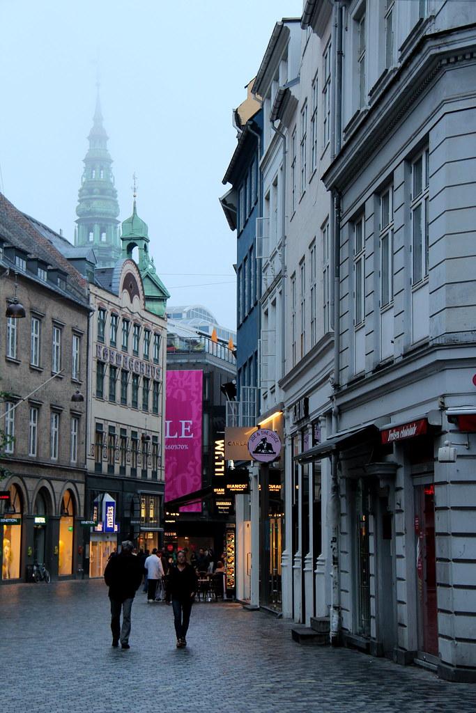 Foggy Danish High Street