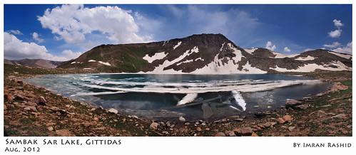pakistan panorama lake landscape frozen kaghan naranvalley babusarpass imranrashid gittidas sambaksarlake sambaksar