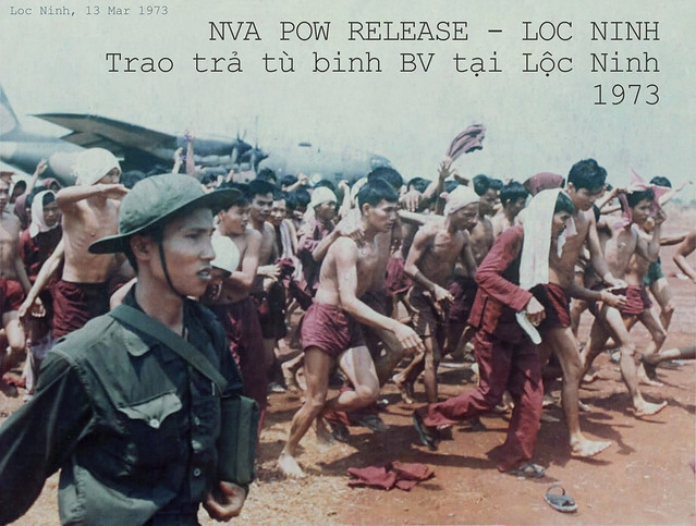 Lộc Ninh 1973 - Trao trả tù binh - POWs RELEASE