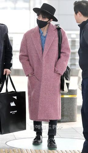 Big Bang - Incheon Airport - 21mar2015 - G-Dragon - Herald Corp - 04