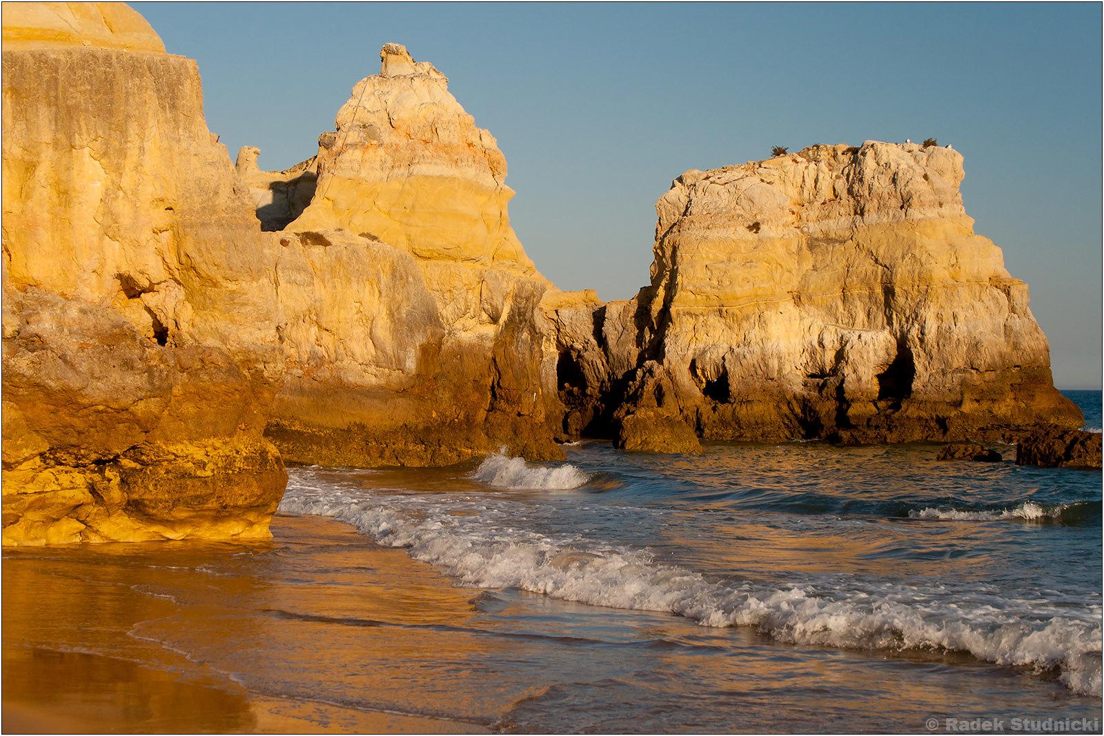 Wybrzeże Algarve w Portugalii