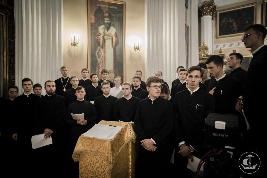 11 сентября 2016, Всенощное бдение в Александро-Невской лавре / 11 September 2016, Vigil at Alexander Nevsky Lavra