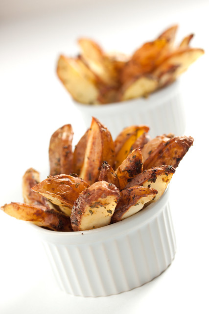 Spicy Spiced Baked Wedges