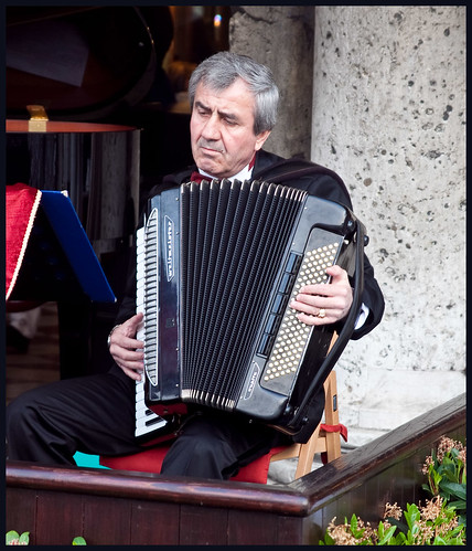 muzikant by hans van egdom