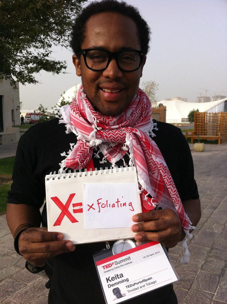Keita Demming @TEDxPortofSpain