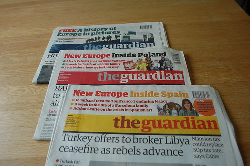 Guardian Europe Season mastheads (from 2011)