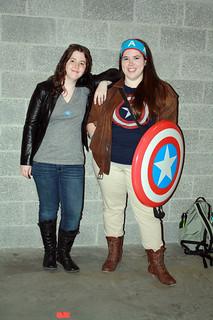 Toni and Cap