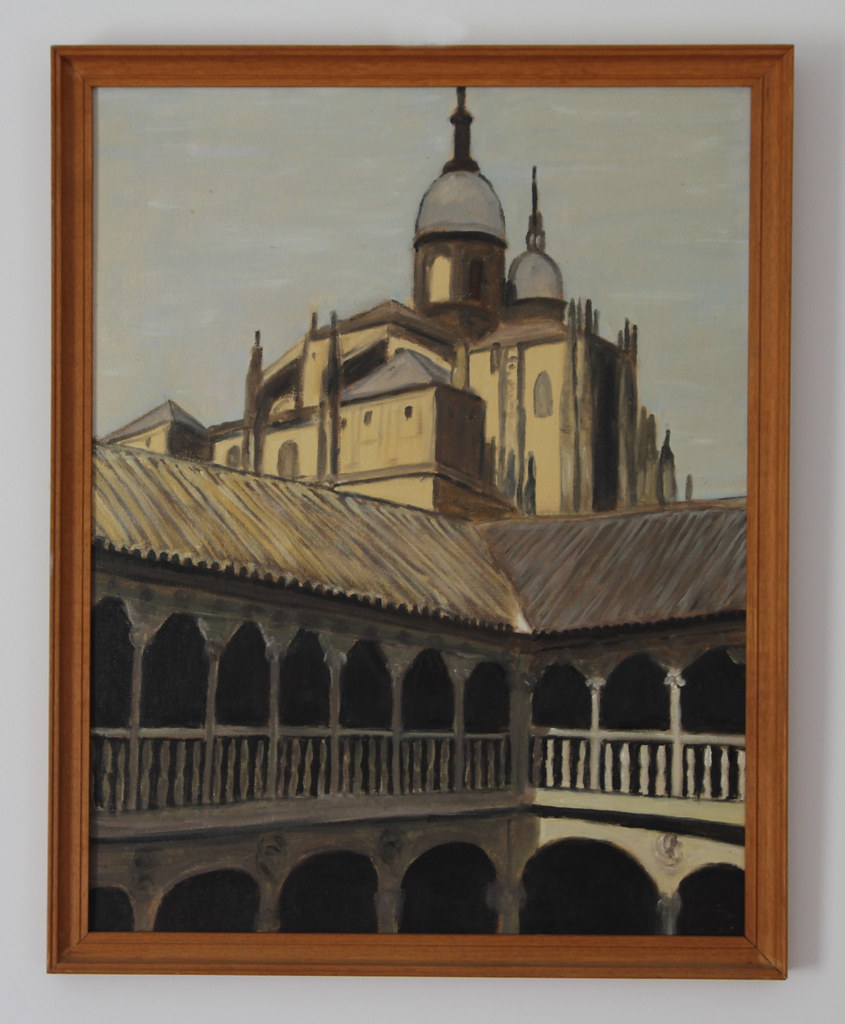 Salamanca Cathedral from Las Dueñas Convent, 1985